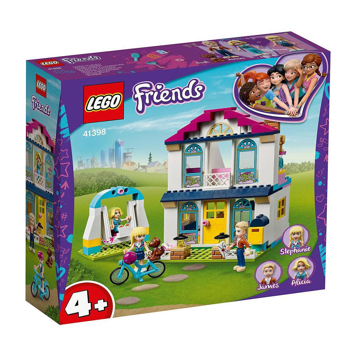Конструктор LEGO Friends: Дом Стефани