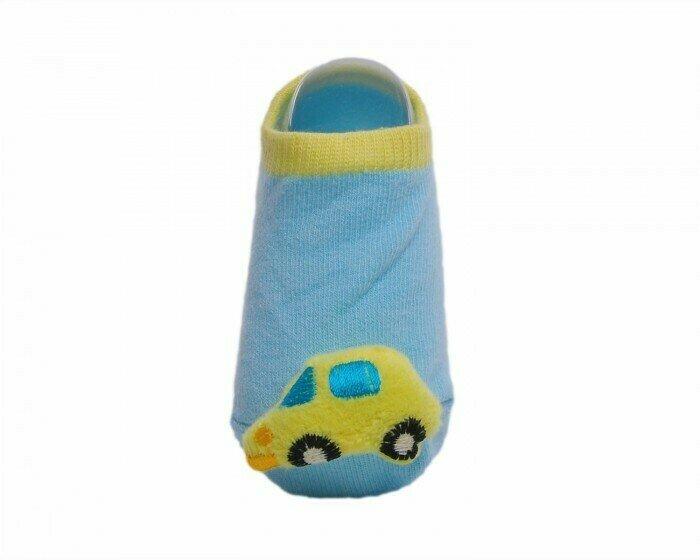 Lansa Носки детские с игрушкой Машинка