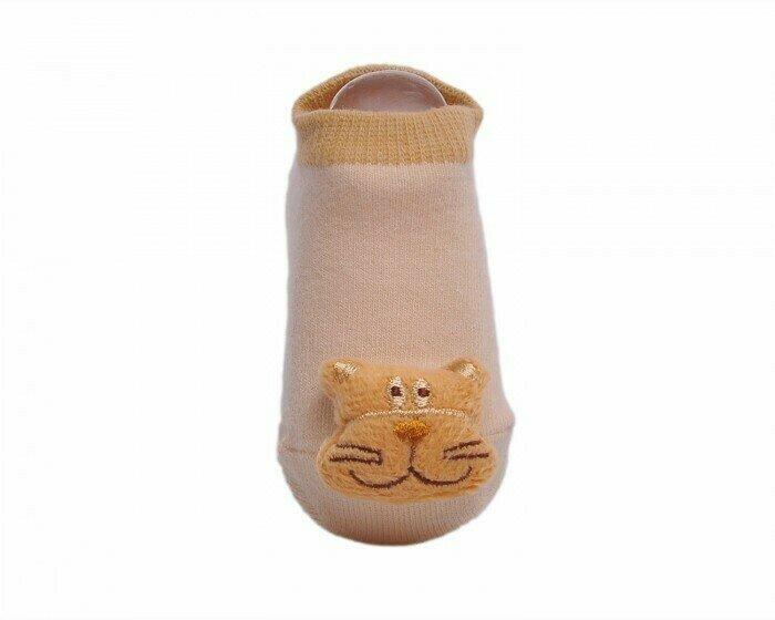 Lansa Носки детские с игрушкой Кот
