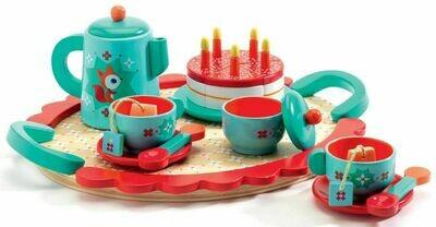 Набор продуктов с посудой DJECO Чаепитие у Лисички