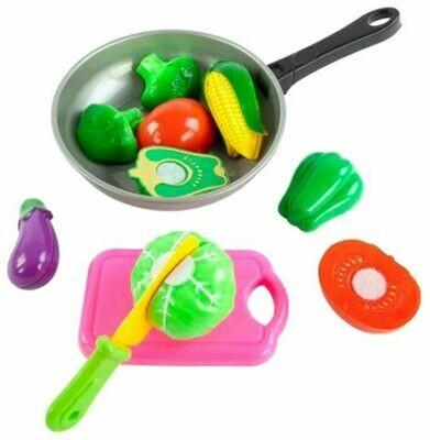 Набор продуктов с посудой Mary Poppins Овощи в сковороде