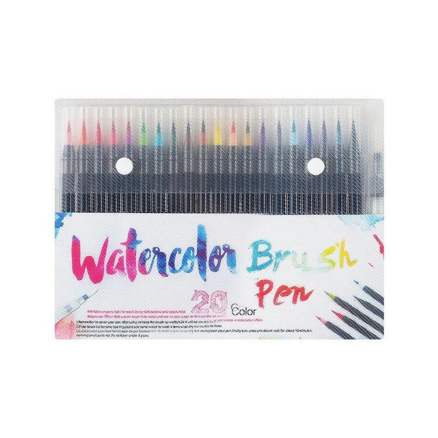 Набор фломастеров Watercolor, 20 цв.,