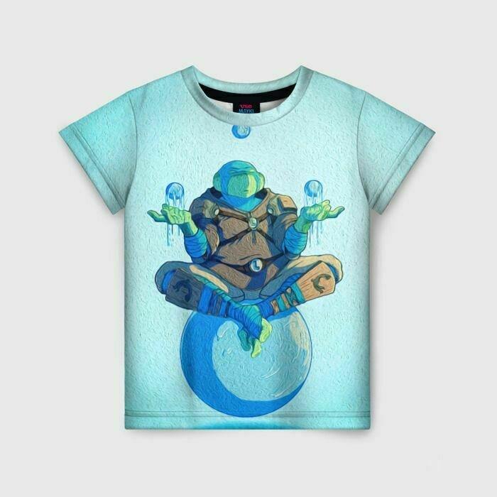 Детская футболка 3D«ЛЕО»