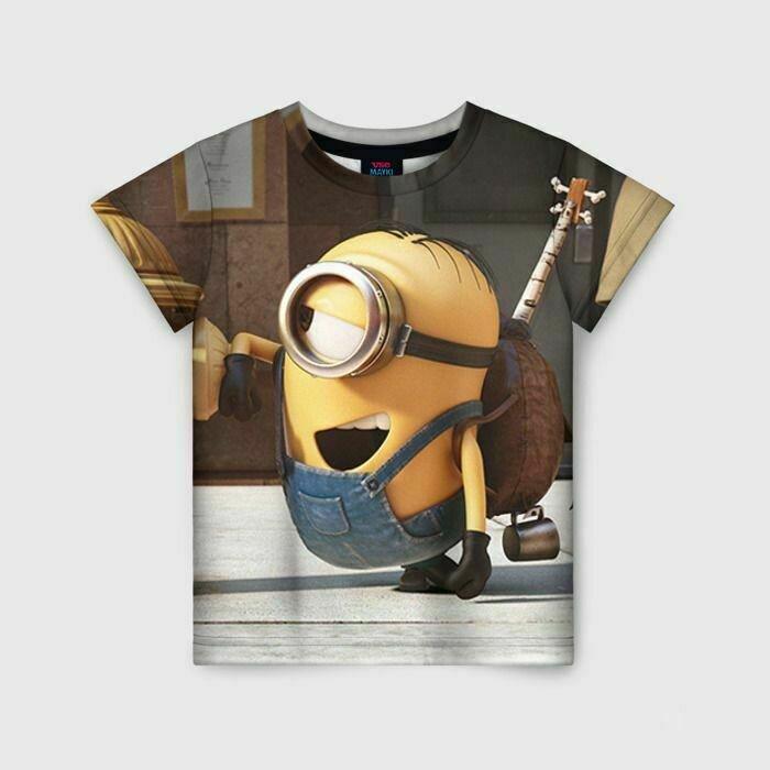 Детская футболка 3D «Знакомство»