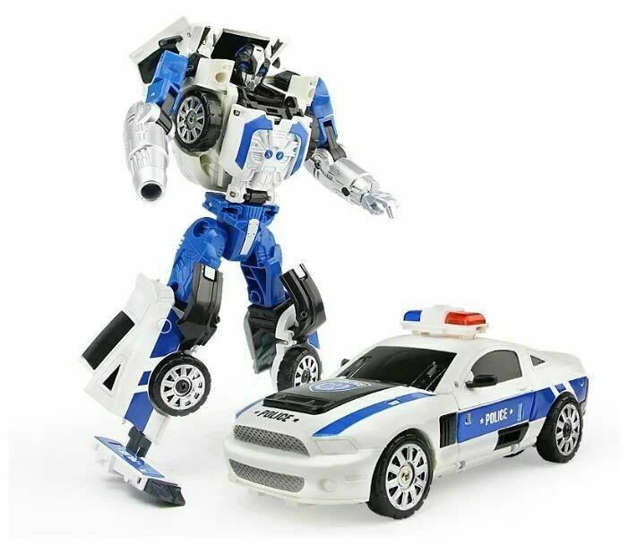 Робот-трансфомер Play smart Полицейский