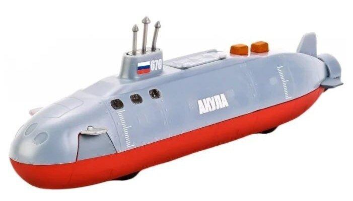 Подводная лодка ТЕХНОПАРК Акула со светом и звуком