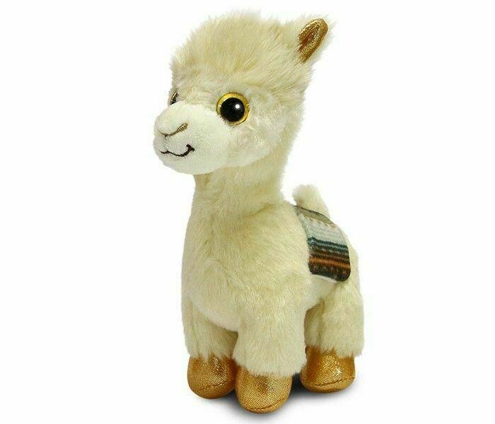 Мягкая игрушка Aurora Альпака 22 см