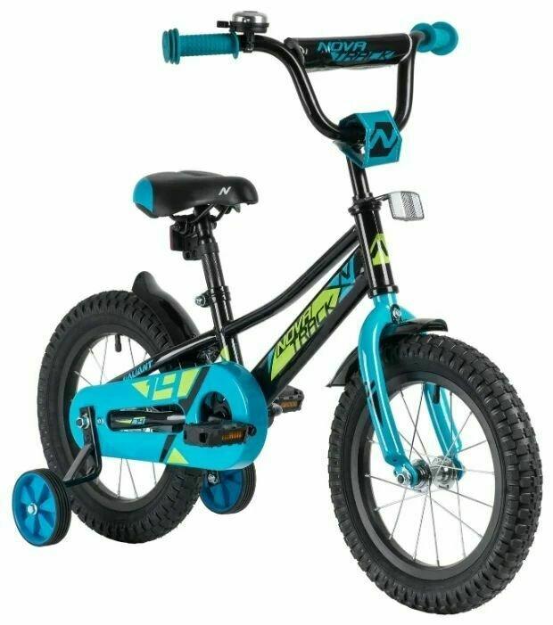 Детский велосипед Novatrack Valiant 14 (2019), 3-5 лет