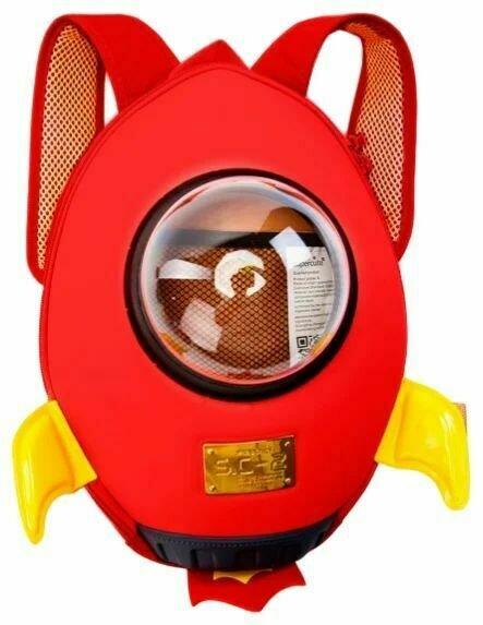BRADEX Ранец детский Ракета, красный