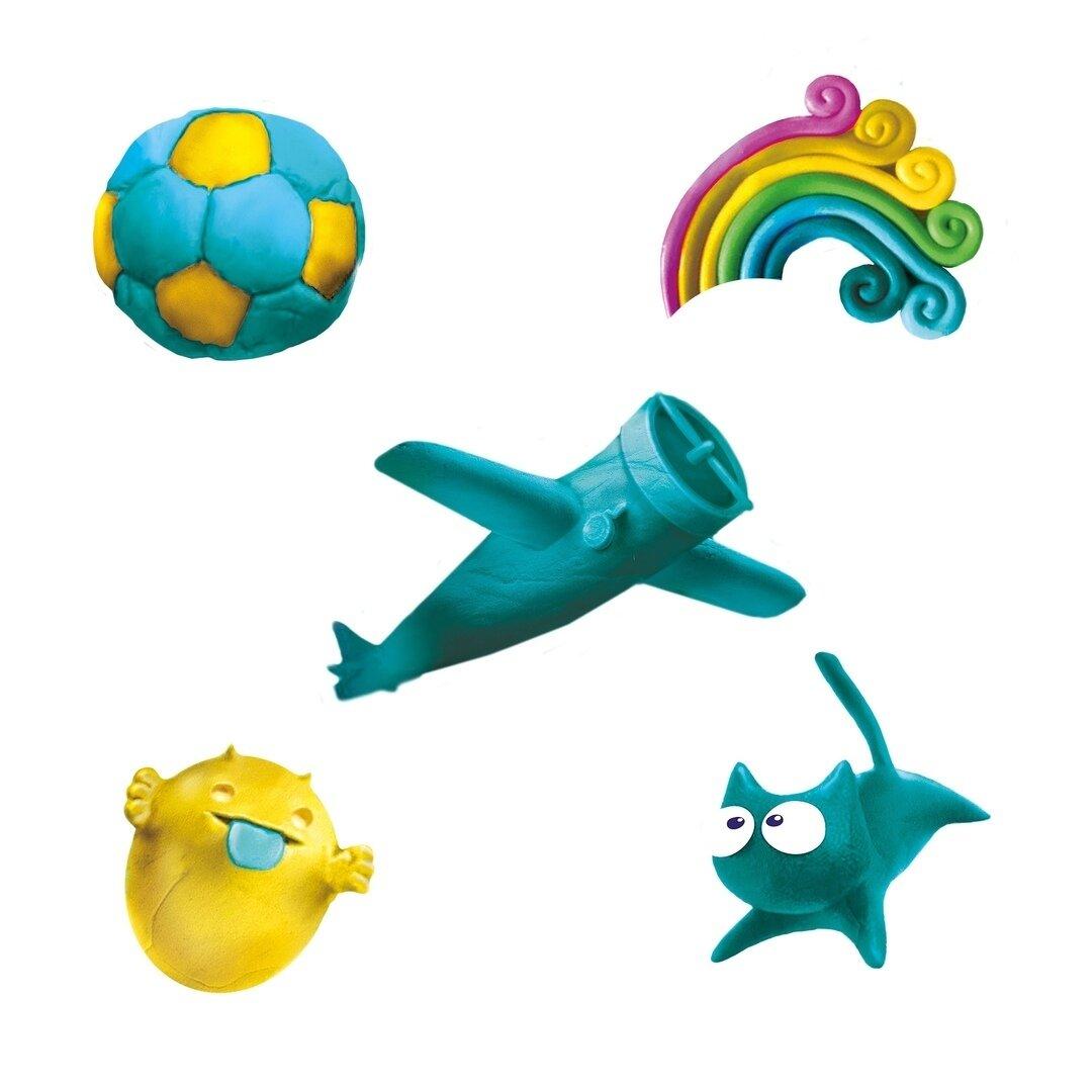 Воздушный пластилин Genio Kids для детской лепки Fluffy