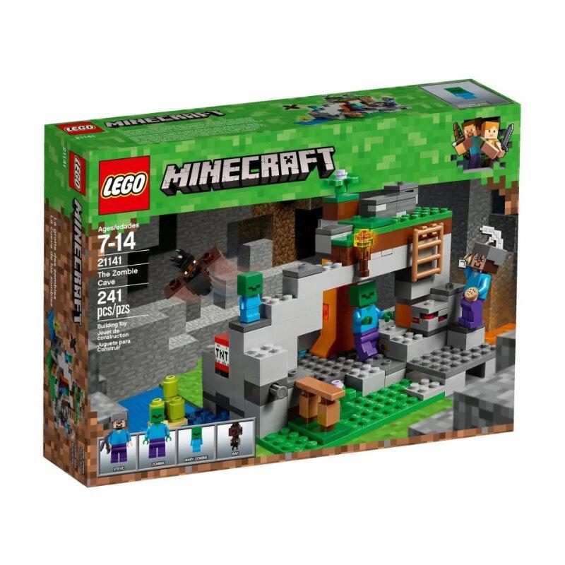 Конструктор LEGO Minecraft Пещера зомби