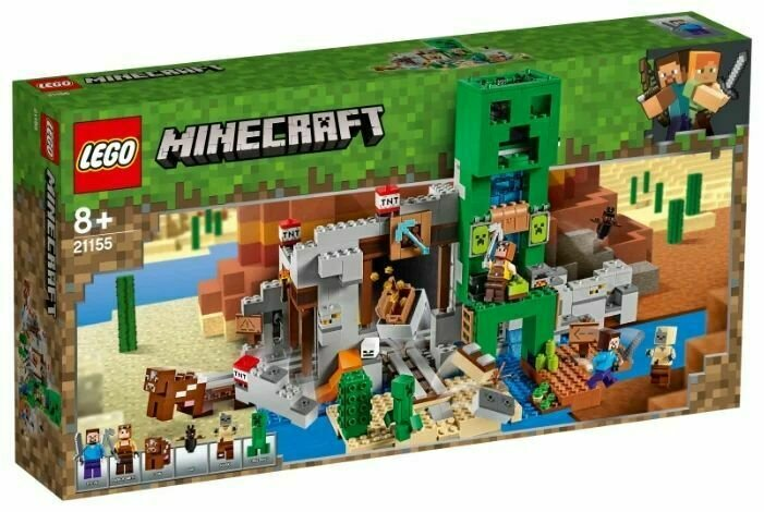 Конструктор LEGO Minecraft Шахта крипера
