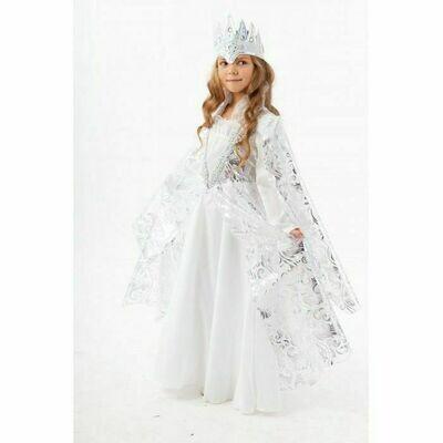 Пуговка Карнавальный костюм Снежная Королева