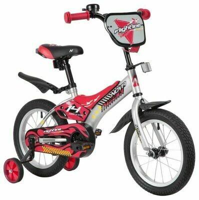 Детский велосипед Novatrack Flightline 14 (2019), 3-5 лет