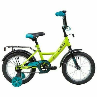 Детский велосипед Novatrack Vector 14 (2020), 3-5 лет