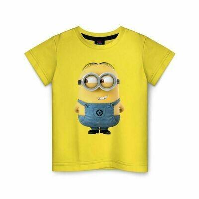 Детская футболка хлопок «Миньон 3»
