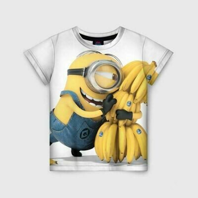 Детская футболка 3D «Банан»