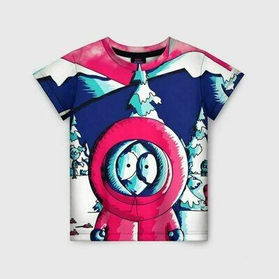 Детская футболка 3D «KENNY»