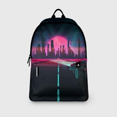 Рюкзак 3D «НЕОНОВЫЙ ГОРОД»
