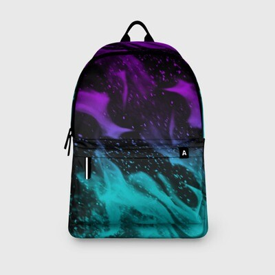 Рюкзак 3D «НЕОНОВЫЙ ОГОНЬ»