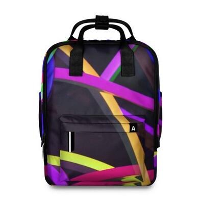 Рюкзак 3D «Светящиеся полосы»