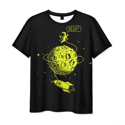 Мужская футболка 3D «Hello!»