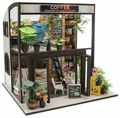 Сборная модель Hobby Day румбокс Coffee house