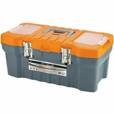 Ящик с органайзером Stels серый/оранжевый