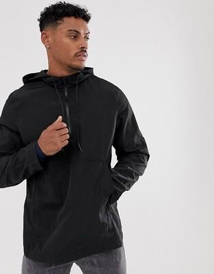 Черная водонепроницаемая куртка ASOS DESIGN