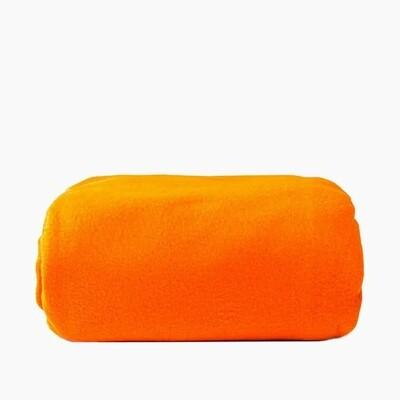 Плед Текстильная лавка 130х150 оранжевый