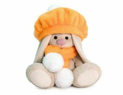 Мягкая игрушка Budi Basa Зайка Ми в оранжевом берете 15 см