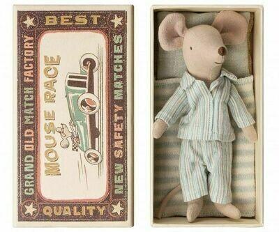 Мягкая игрушка Maileg Мышонок старший брат в коробке