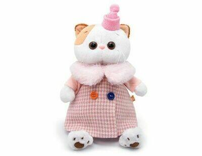 Мягкая игрушка Budi Basa Ли-Ли в комбинированном пальто 27 см