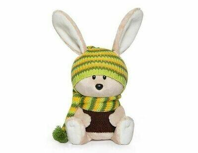 Мягкая игрушка Budi Basa Заяц Антоша в шапочке и свитере