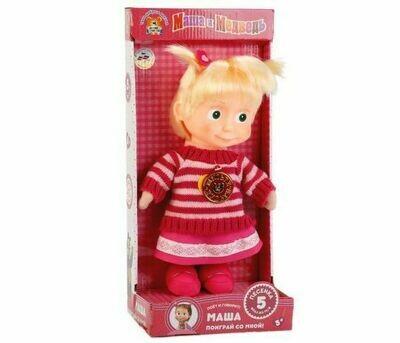Мягкая игрушка Мульти-пульти Маша в свитере 26 см