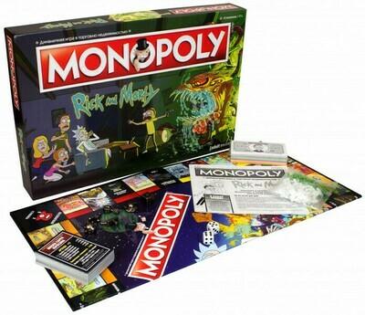 Настольная игра Монополия Rick And Morty