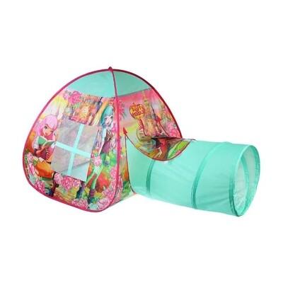 Палатка Играем вместе Королевская академия с тоннелем в сумке