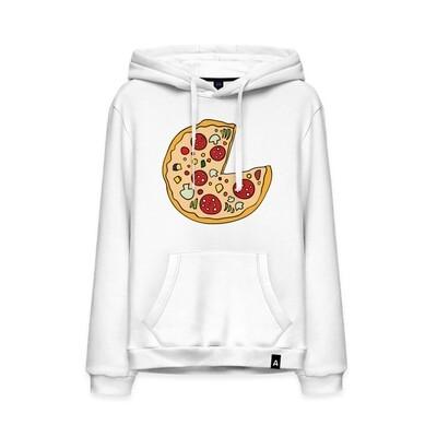 Мужская толстовка хлопок «Пицца парная»