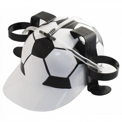 Каска на 2 банки Футбол