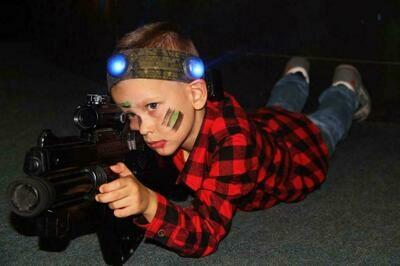 Лазерная битва для детей