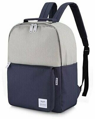 Рюкзак Himawari HW-0511, серый/темно-синий, 15.6