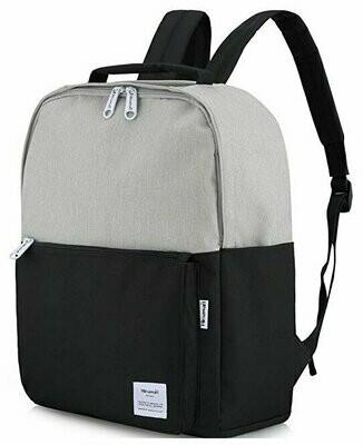 Рюкзак Himawari HW-0511 , серый/черный, 15.6