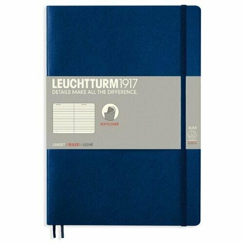 Блокнот Leuchtturm1917 (темно-синий) B5, 60 листов