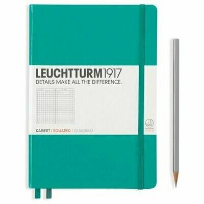 Блокнот Leuchtturm1917 (изумруд) A5, 124 листа