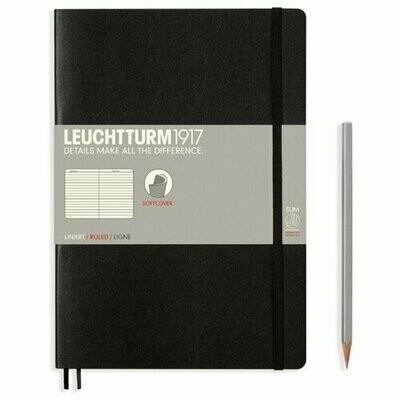 Блокнот Leuchtturm1917 (черный) B5, 60 листов