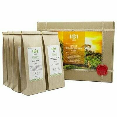Чай 101 чай Набор экзотических чаев ассорти, 260 г
