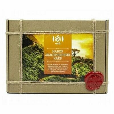 Чай 101 чай Набор экзотических чаев ассорти, 90 г