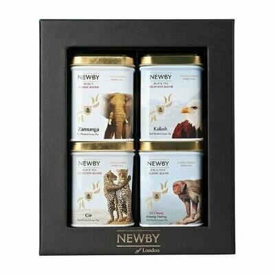 Чай Newby Wildlife подарочный набор №4, 160 г