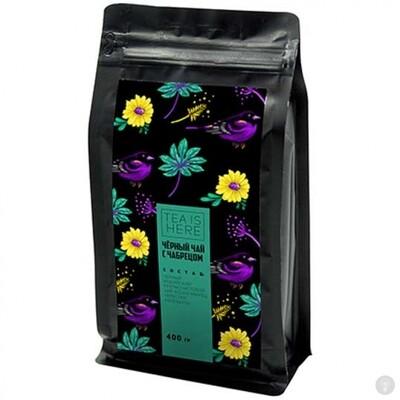 Чай Tea Is Here Черный с чабрецом 400 гр