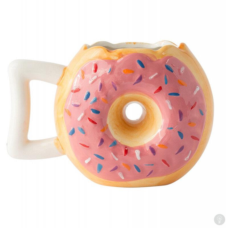 Кофейная кружка Donut coffee mug клубничная